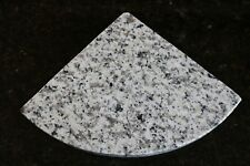 "8"" White Sardo Granite Shower Corner Shelf/Caddy 3cm"