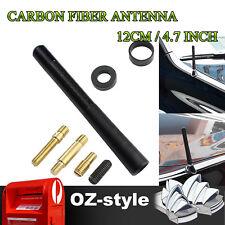 "12cm 4.7"" Carbon Fiber Stubby Antenna Aerial For Toyota Corolla Echo Yaris RAV4"