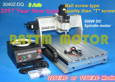 3 axis 3040Z-DQ 300W ballscrew CNC Router Engraver Engraving Milling Machine
