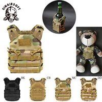 Tactical Beer JPC Mini Molle Vest Beverage Coolers Holder Adjustable Strap Vests
