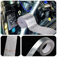 Adhesive Backed Heat Shield Wrap Tape For Car Intake Intercooler Pipe 25M 450℃