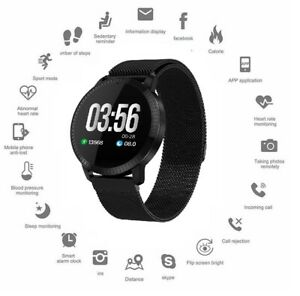 Smart Watch Sports Fitness Activity Heart Rate Tracker Blood Pressure Pedometer