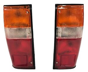 COMPLETE REAR TAIL LIGHTS FOR TOYOTA HILUX RN50 LN50 HERO MKII PICKUP TRUCK PAIR