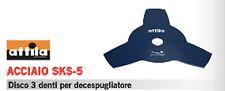 LAMA DISCO PROFESSIONALE DECESPUGLIATORE UNIVERSALE 3 DENTI ACCIAIO SKS - 5