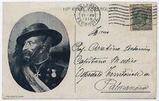 cartolina militare 10° REGGIMENTO BERSAGLIERI