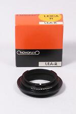 Novoflex Adapter LEA-R für Leica R3 zB. Schnellschussobjektiv Noflexar 400mm 5.6
