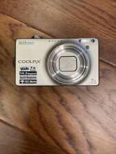 NIKON COOLPIX S6000 DIGITAL CAMERA w/ BATTERY and CHARGER