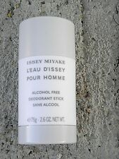 L'EAU D'ISSEY MIYAKE  2.6 0Z 'ALCOHOL' FREE DEODORANT+FREE 2.6 0Z DEOD OUR PICK