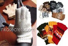 100 Alpaca Fingerless Gloves