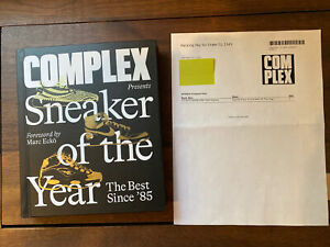 Complex Presents Sneaker of the Year:The Best Since 85, SIGNED Copy