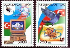 AZERBAIJAN / Aserbaidschan 1999  -125th ANNIVERSARY OF UPU MNH bird