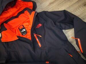 The North Face Bansko Women's Insulated Jacket M RRP£250 Ski Climb Blue Coat