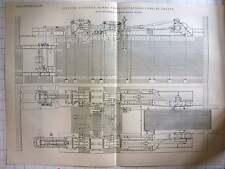 1898 1600 Horse Triple Expansion Corliss Engine Bradford