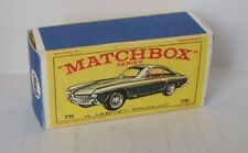 Repro box Matchbox 1:75 nº 75 ferrari berlinetta más viejo verde