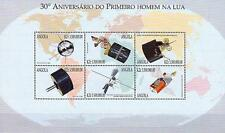 ANGOLA 1999 SPACE RESEARCH =APOLLO 11 x2 M/S MNH ** FREE POSTAGE is POSSIBLE