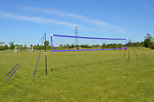 MVPro Sports - Portable Beach Volleyball System - PURPLE - Professional Quality