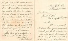 Ulysses S. Grant - Autograph Letter Signed - Warns President James A. Garfield