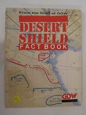 Desert Shield Fact Book by Game Designer's Workshop