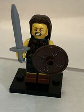 Lego Series 6 Minifigure Scottish Highlander Warrior & Base Plate
