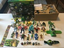 NICE! HUGE Ben 10 Ten LOT! Figures Toys Cards Accessories Watch Command Center!