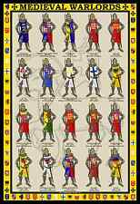 Medieval Warlords 13x19 Poster