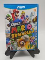 Super Mario 3D World (Wii U, 2013) Complete In Box