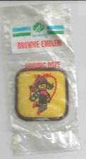 Brownie Girl Scout Badge Patch: Jumping Rope (new in package)