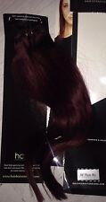"new Halo human  Hair Extensions CLIP IN 100% Human Hair 16"" Plum 99J  Extensions"