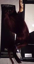 """NUOVO HALO Extension Capelli Umani Clip In 100% capelli umani 16 """"Plum 99J Extensions"""