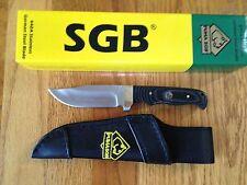 PUMA SGB BUFFALO SKINNER II FIXED BLADE KNIFE MICARTA HANLE GERMAN STEEL NEW BOX