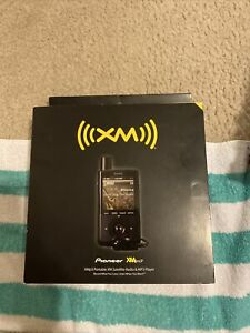New!! PIONEER #GEX-XMP3  Portable XM Satellite Radio
