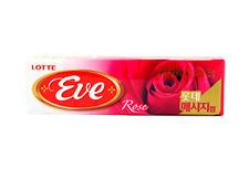 Korean Gum Lotte Bubble Gum Chewing Gum Eve Rose Flavor (26g)