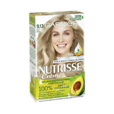 Garnier Nutrisse 9.13 Light Ash Beige Blonde Permanent Hair Colour 1 pack