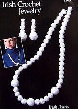 Irish Crochet Jewelry Irish Pearls  Annie's Attic Pattern