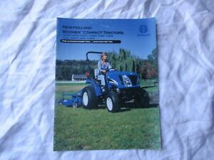 New Holland TC boomer compact tractor brochure