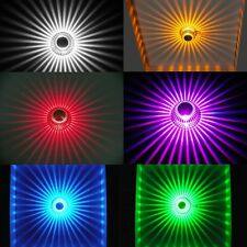 Remote control Ceiling recessed RGB Color change 3w LED spot light downlight