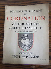 The Coronation of HM Queen Elizabeth II 1953 - Borough of High Wycombe