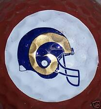 (1) NFL FOOTBALL LOS ANGELES ST LOUIS SAINT LOUIS RAMS LOGO GOLF BALL