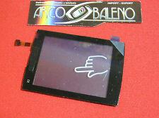 VETRO +TOUCH SCREEN per NOKIA X3-02 X302 Nero DISPLAY LCD VETRINO Nuovo