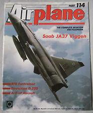 Airplane Issue 114 Saab JA 37 Jaktviggen, Dewoitine D.520, RFB Fantrainer