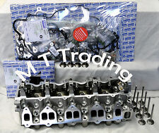 Mazda Bravo Ford Courier WL  WL-T Cylinder Head KIT new  inc. Bolts, VRS, valves