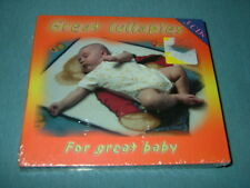 3 NEW IN 1 PACKAGE GREAT LULLABIES--FOR GREAT BABY--A MUST SEE & HAVE