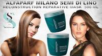 ALFAPARF MILANO Semi Di Lino Reconstruction Reparative Mask 500 ml