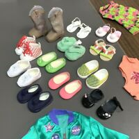 """New Lot 17 Set Blue Outfit Shoes Accessory 18/"""" American Girl doll Toy Xmas gift"""