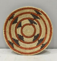 Basket African Ethiopian Eritrea Plate Baseket Set of 3 9 X 8.5