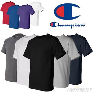 Champion Mens Basic Cotton T-Shirt (S-3XL) (13 Colors)