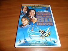 Around the World in 80 Days (DVD, Full Frame 2004) Jackie Chan Used Disney