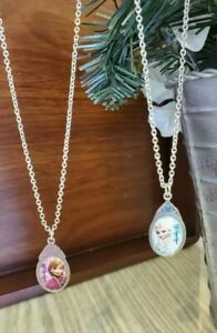 NEW DISNEY'S Princess Frozen Elsa and Anna BFF Necklace set, Toy/Party Favor