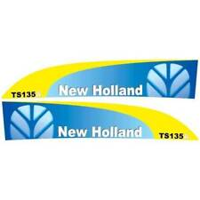 New Holland TS135A tractor decal aufkleber adesivo sticker set