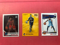 Nba Rookie Card Lot (3) Zion williamson, Ja Morant And Coby White